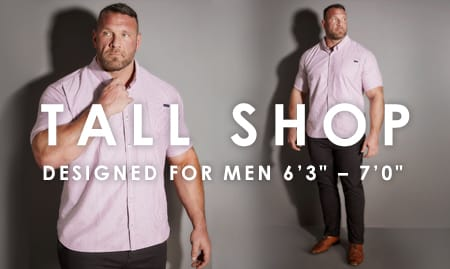 Shop All Tall Menswear >