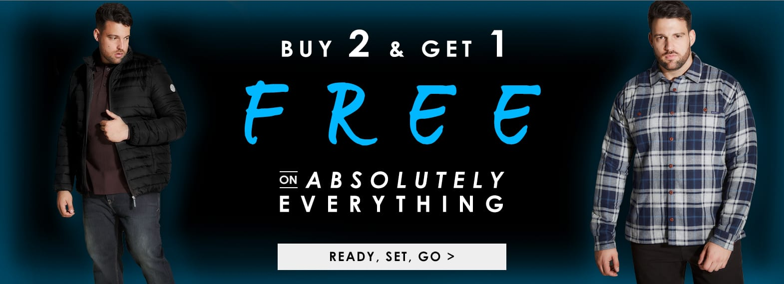 Buy 2 & Get 1 Free on Absolutely Everything! >