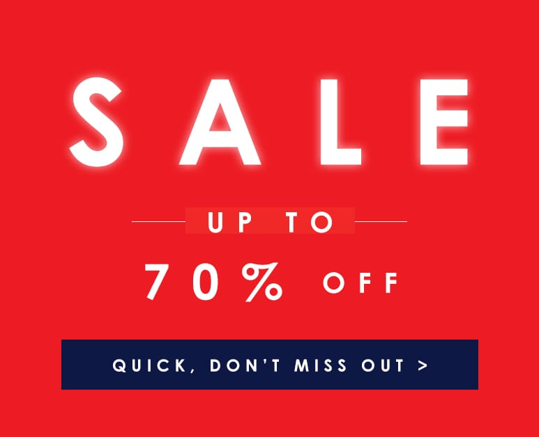 Shop up to 70% Off Sale >