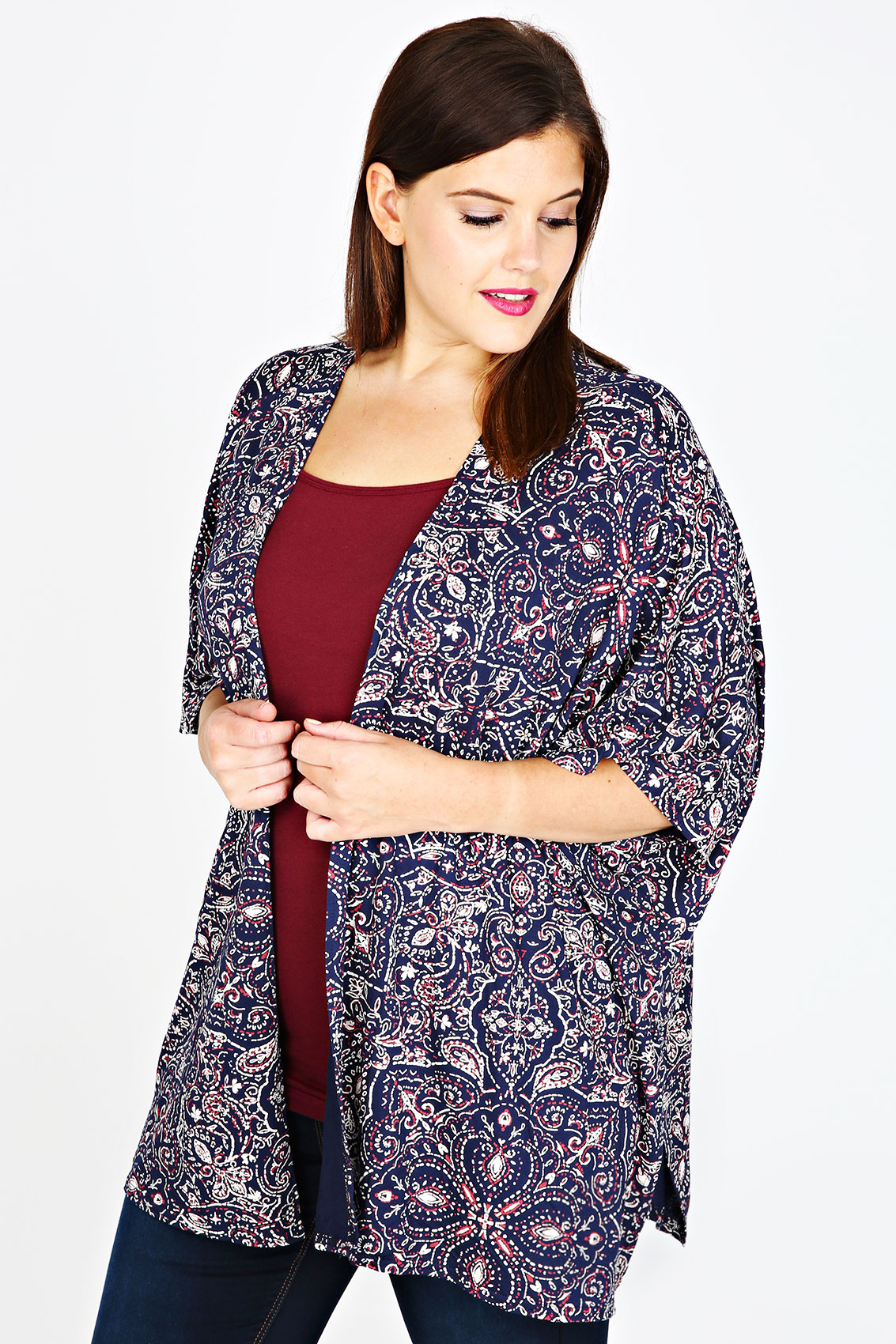 Shop for plus size kimonos online at Target. Free shipping on purchases over $35 and save 5% every day with your Target REDcard.