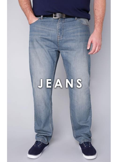 Shop Men's Big and tall Jeans >