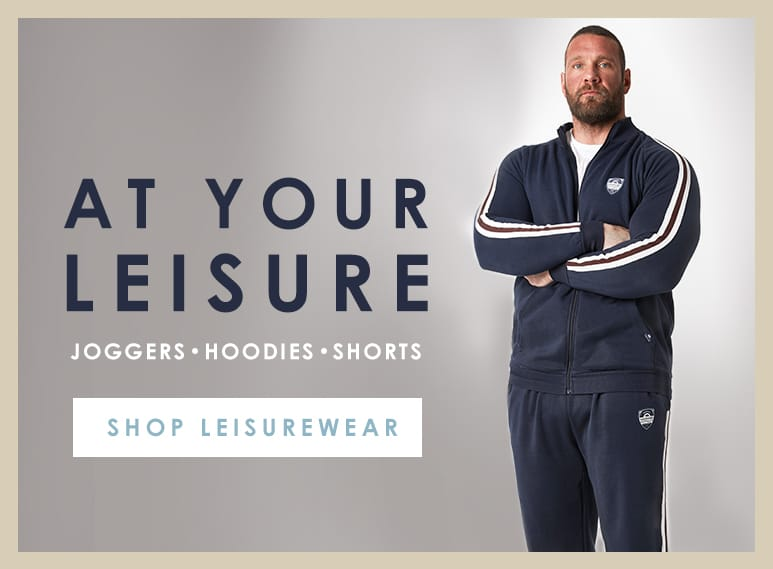 Plus Size menswear Leisure and sportswear >