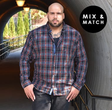 Mix and Match 3 for 2 Shirts >