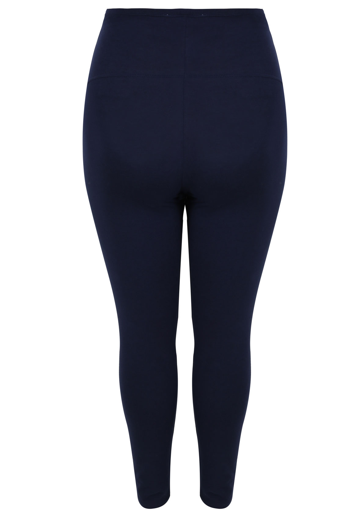 BUMP IT UP MATERNITY Navy Cotton Essential Leggings With ...
