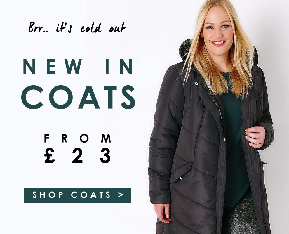 Puffer jackets from £23 >