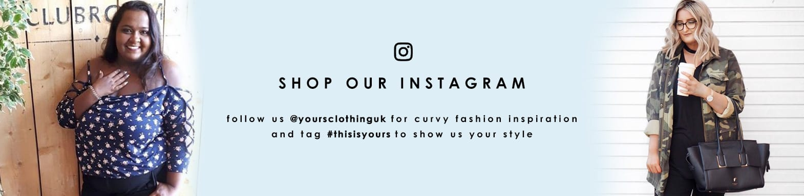 Shop out instagram - follow @yoursclothinguk for curvy fashion inspiration >
