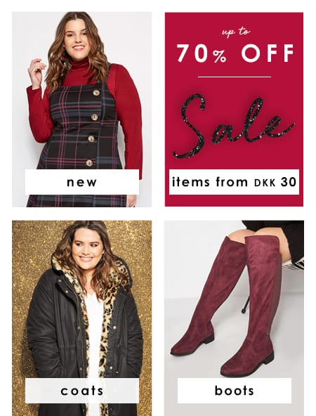 New in Tops Boots and coats