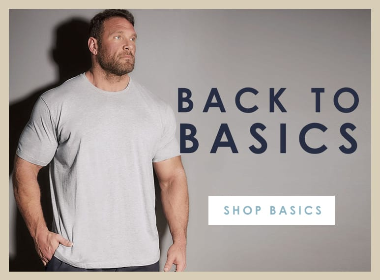 Shop Big and Tall Basic T-Shirts >
