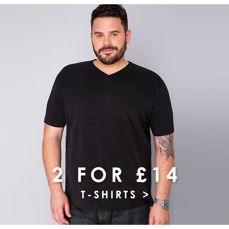 BR Offers Page - 2 for 14 t shirts