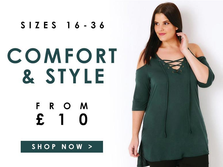 Comfort & style from £10 >