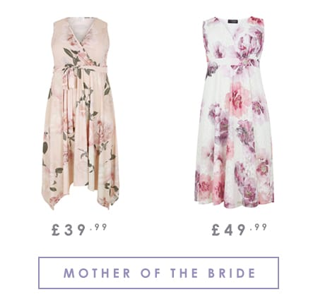 Plus Size Ladies Mother of the Bride Outfits >