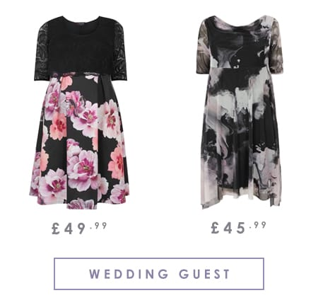 Plus Size Ladies Wedding Guest Outfits >