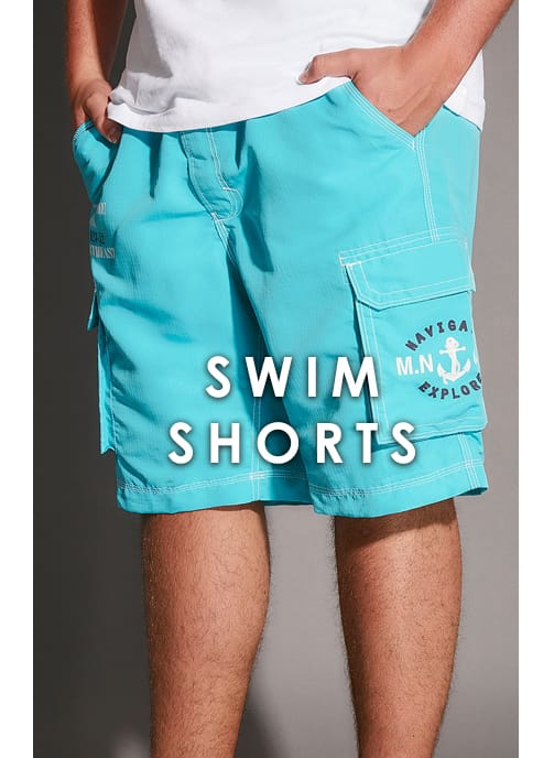 Shop Men's Big and tall Swim Shorts