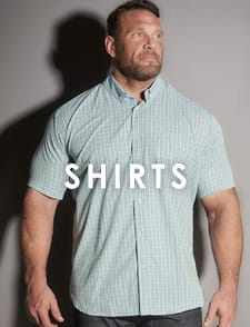 Shop Big and Tall Men's Shirts  >