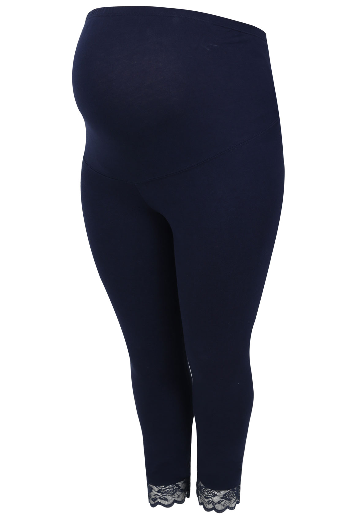 booking terms and conditions template - bump it maternity legging navy 3 4 avec bordure dentelle