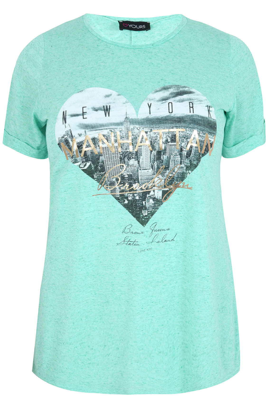 Green burn out short sleeve manhattan t shirt plus size for 20 34 35 dress shirts