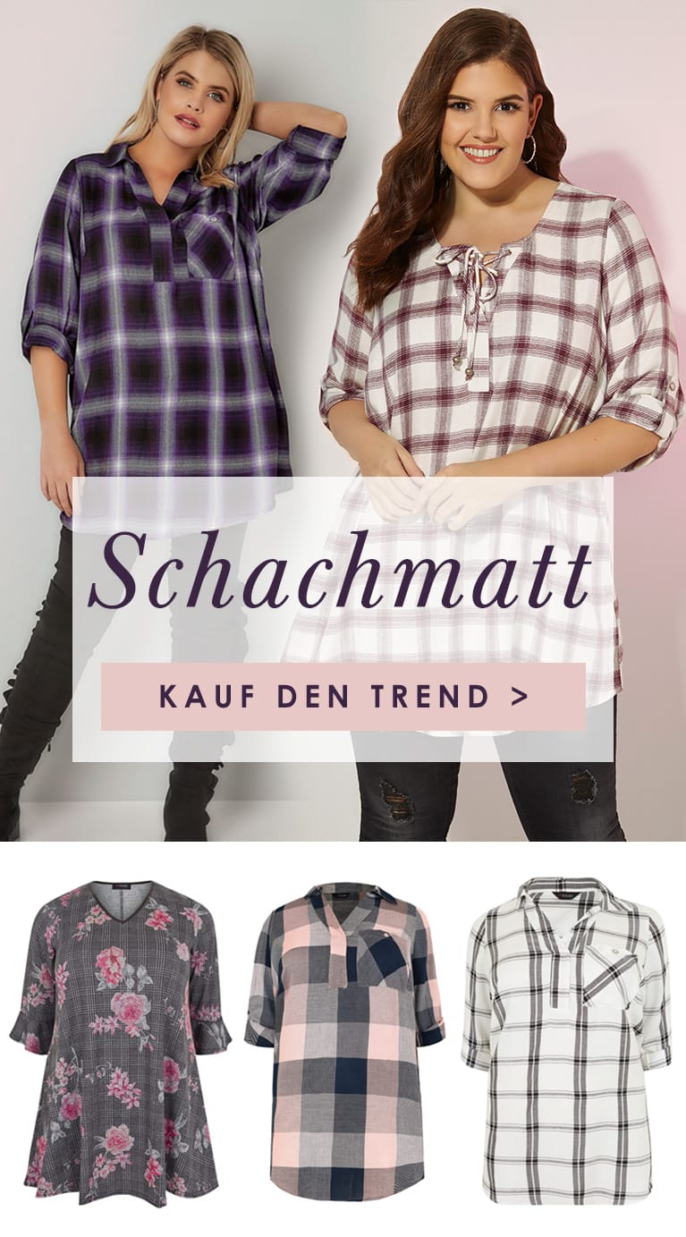 Shop Plus Size Checkmate Trend >