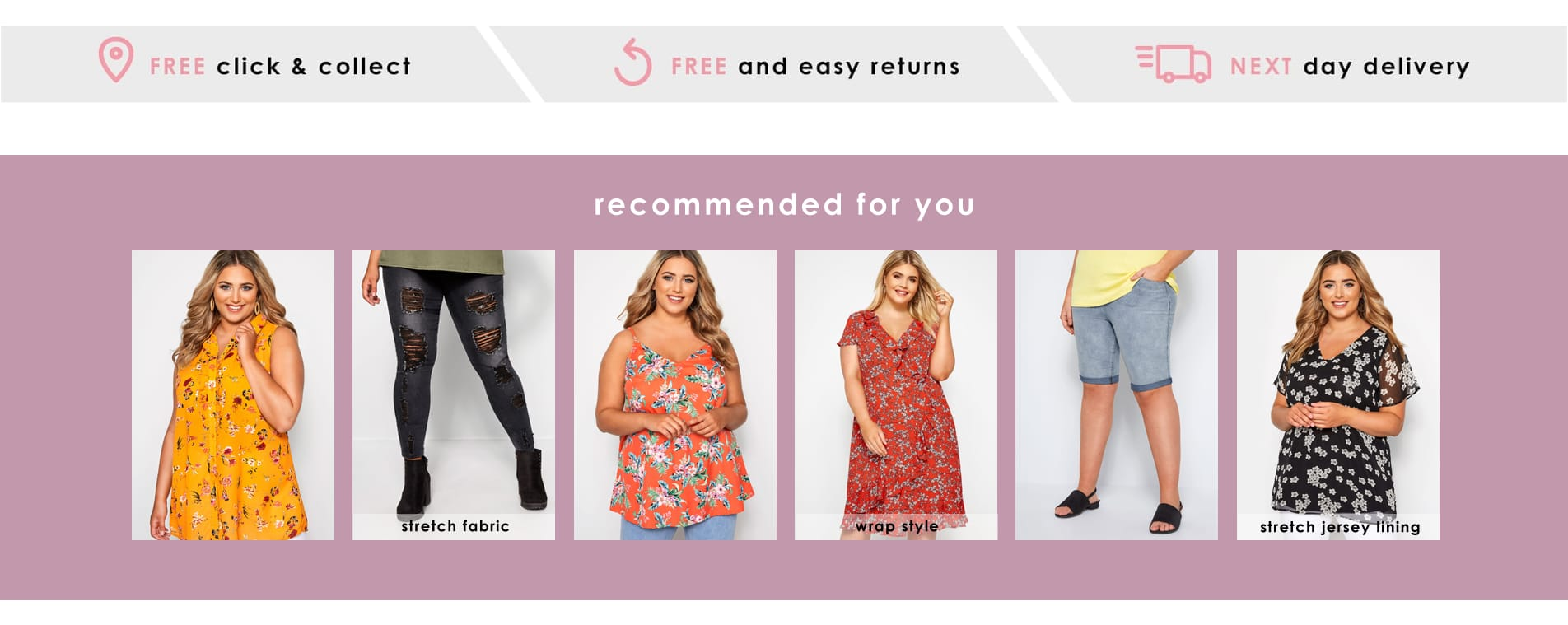 Plus Size Clothing | Women's Curve & Plus Size Fashion | Yours Clothing