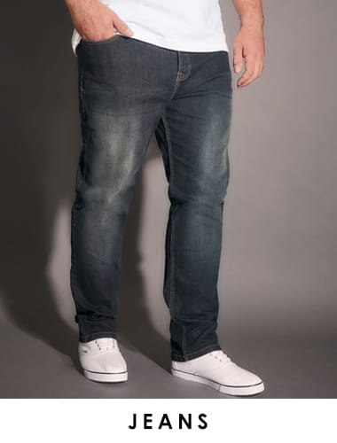 "Mens jeans up to 38"" leg >"