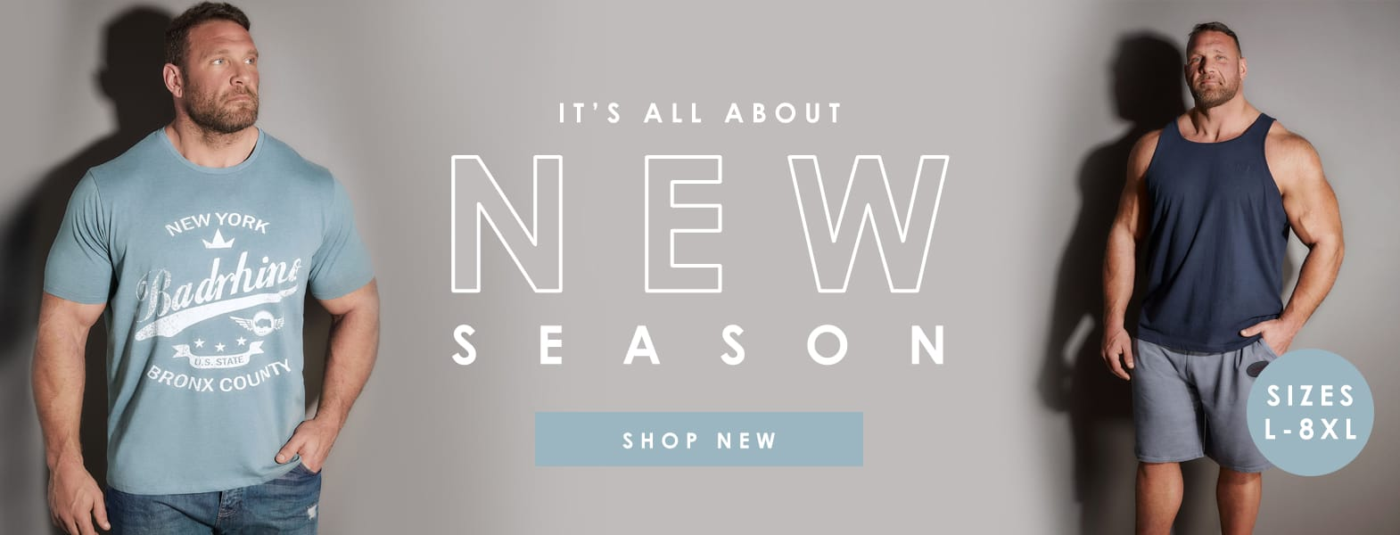 Menswear end of season sale >