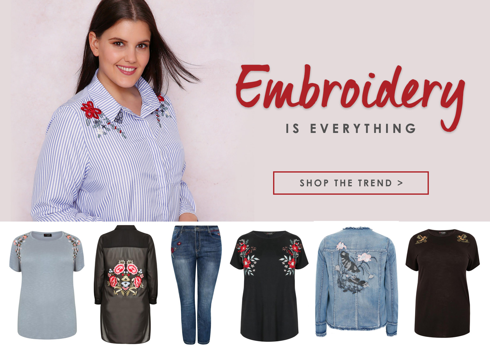 Shop Embroidery >