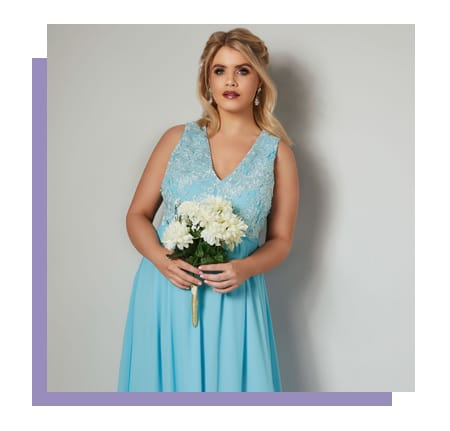 Shop Plus Size Ladies Bridesmais Collection >