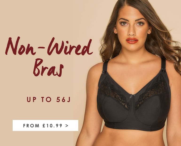 Shop Plus Size Women's Unwired Bras from £10.99 >