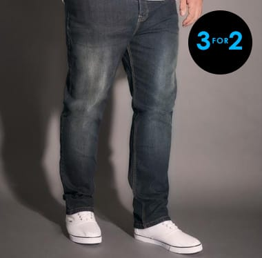 3 for 2 on all jeans >