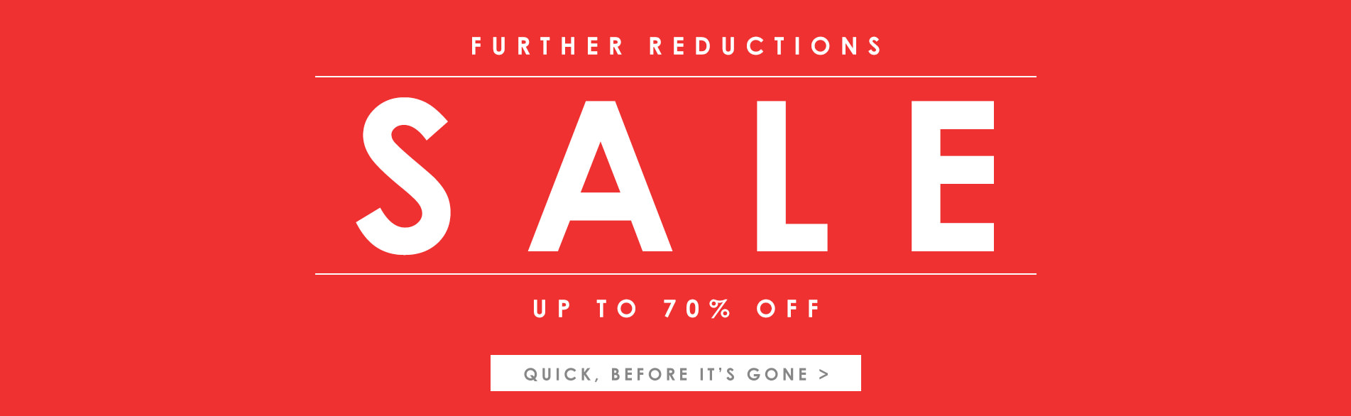 End of season clearance - up to 70% off >