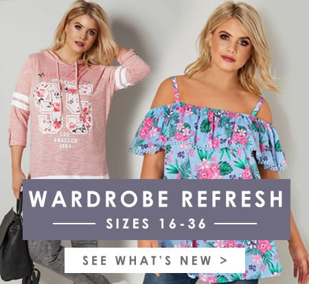 Shop Plus Size Clothing >