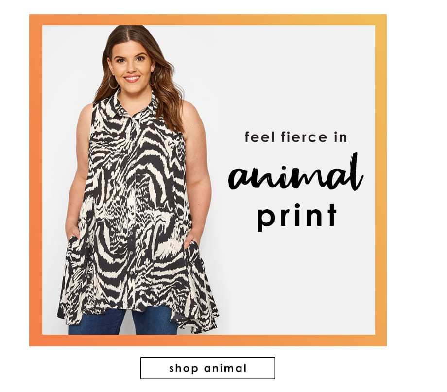 60ed059d8dc Size Up. App  . Tropical  . Animal Print