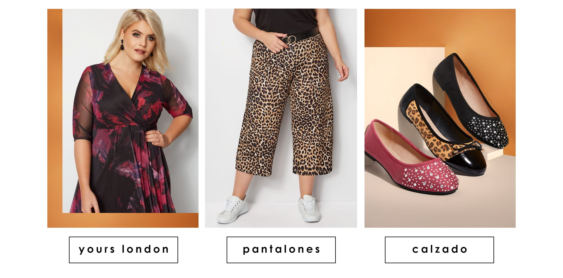 yours london Pantalones Zapatos