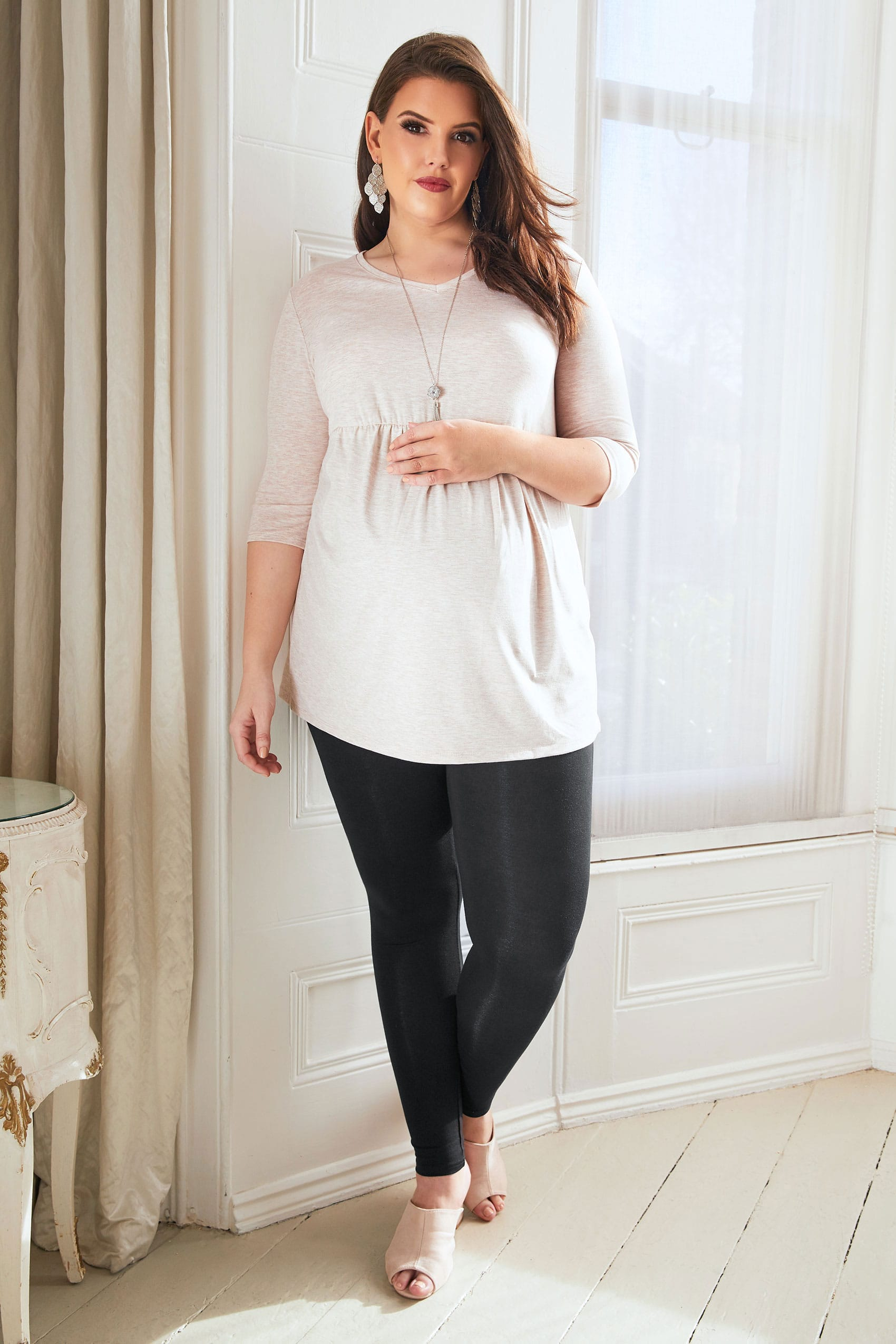 Bump it up maternity black soft touch leggings with tummy for Sites like touch of modern