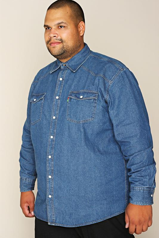 DUKE Stonewash Denim Shirt