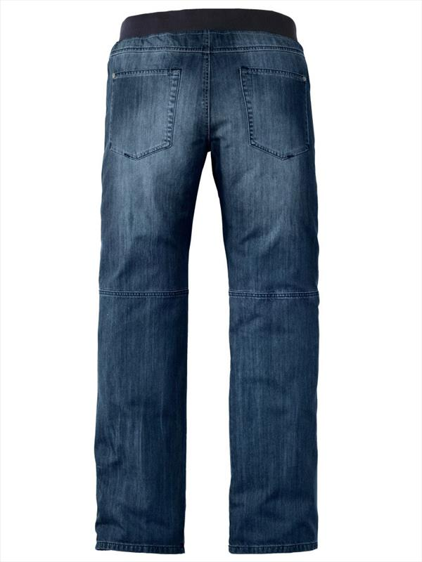 TALL Blue Jeans With Elastic Waist Panels