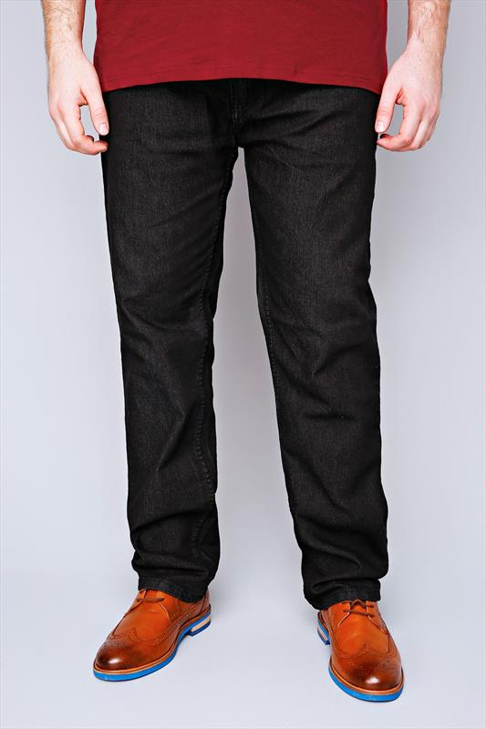 Comfort Rockford Black Comfort Fit Jeans 070414