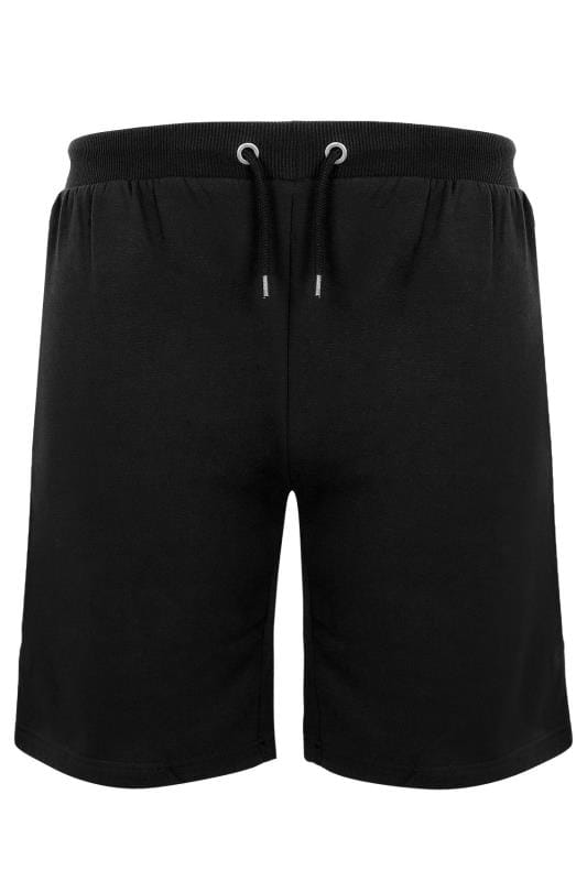 2 PACK BadRhino Black & Navy Basic Sweat Shorts With Pockets