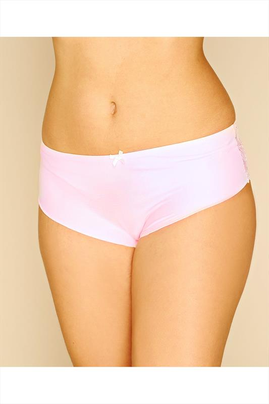 Nude Pink No VPL Brief With Lace Back