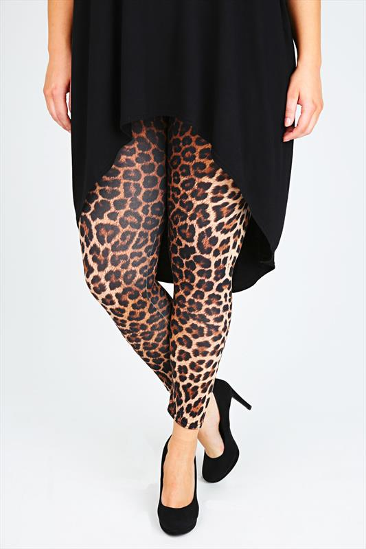 Leopard Leggings Plus Size