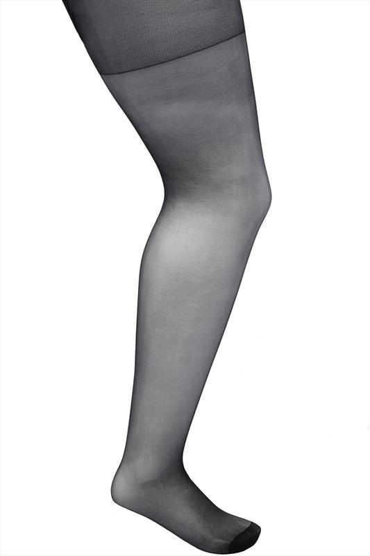 Black 3 Pair Pack 15 Denier Tights