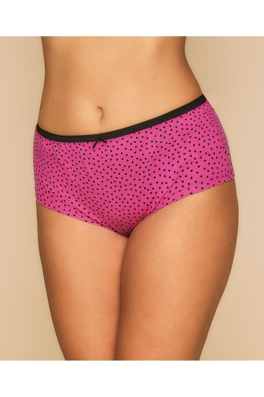 5 PACK Teal, Pink, Purple, Black & Wine Printed & Plain Assorted Shorts
