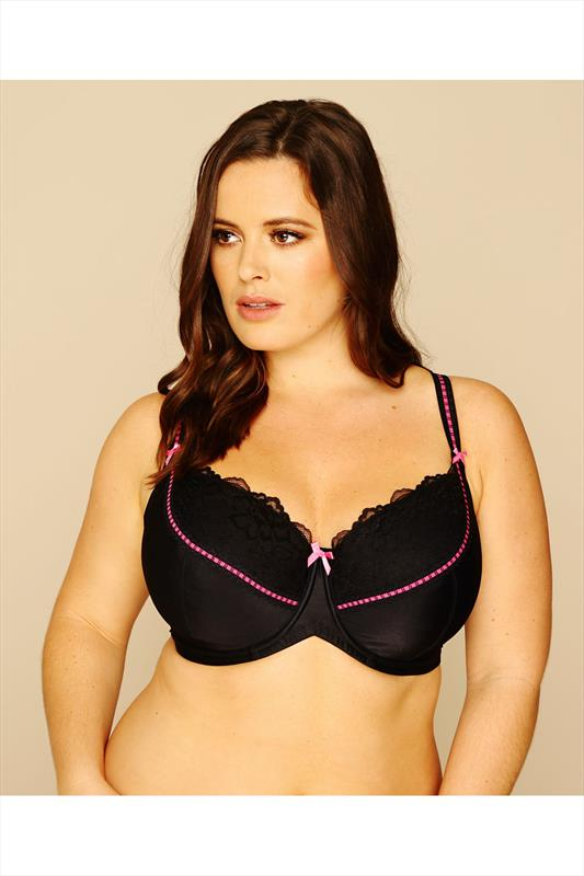 Black Underwired Soft Padded Bra