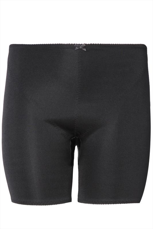 Black FIRM CONTROL Body Shaping Long Short