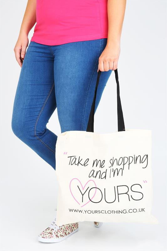 Bags & Purses Yours Clothing Shopper Canvas Bag 047384
