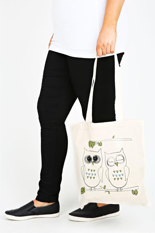 Novelty Owl Cotton Canvas Bag