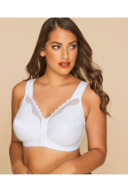 BESTFORM White Cotton Comfort Non-Wired Bra