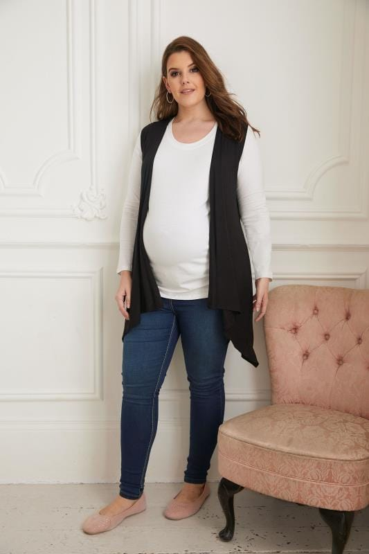BUMP IT UP MATERNITY Wit shirt met lange mouwen