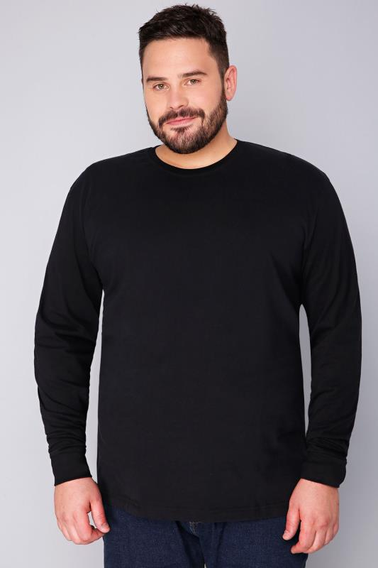 BadRhino Black Long Sleeved T-Shirt