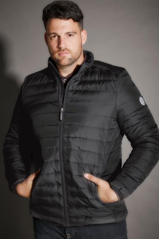 BadRhino Black Padded Zip Through Jacket