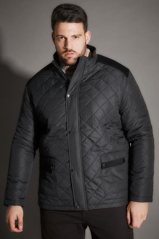 Jackets BadRhino Black Quilted Jacket 101640